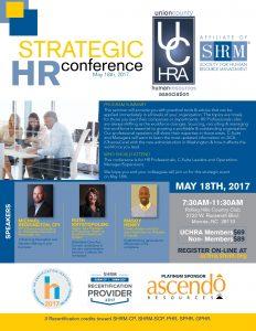 2017 UCHRA Strategic Conference May 18